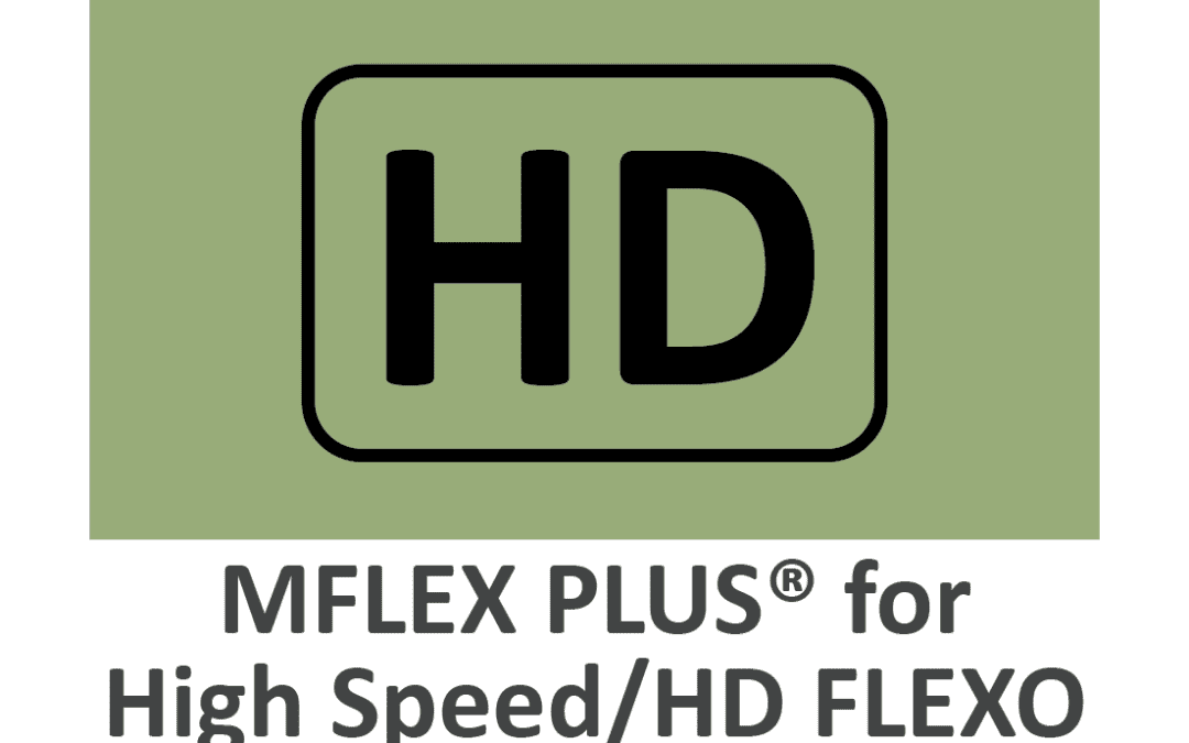 """MFLEX PLUS® The """"GO – TO"""" Doctor Blade for High Speed HD FLEXO"""